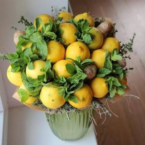 """Фруктовый букет """"Лимонад"""""""