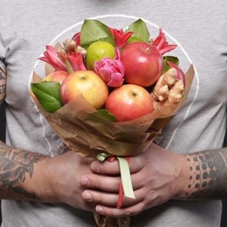 """Фруктовый букет """"Спелые яблочки"""""""