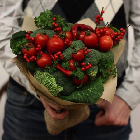 """Овощной букет """"Спелый томат"""""""
