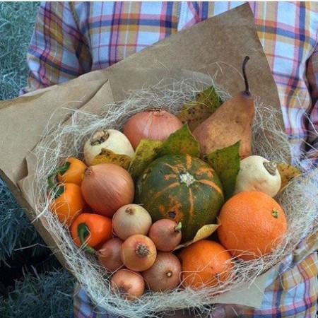 """Овощной букет """"Сбор урожая"""""""
