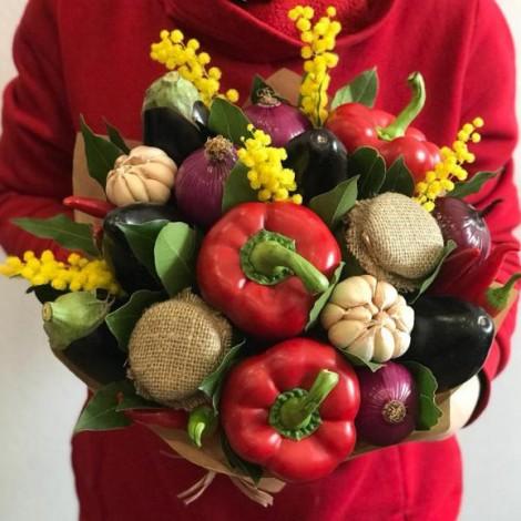 """Овощной букет """"Дары лета"""""""