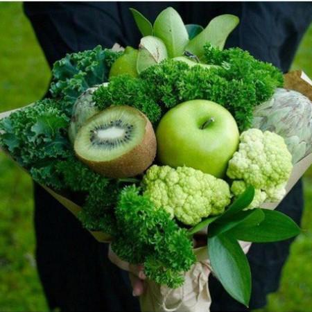 """Овощной букет """"Сочная зелень"""""""